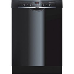 Bosch SHE3AR76UC Ascenta 24″ Black Full Console Dishwasher – Energy Star