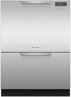 Fisher Paykel DD24DCHTX9 24″ Double DishDrawer Dishwasher with 14 Place Settings SmartDriv ...
