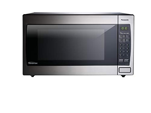 Panasonic Microwave Oven NN-SN966S Stainless Steel Countertop/Built-In with Inverter Technology  ...
