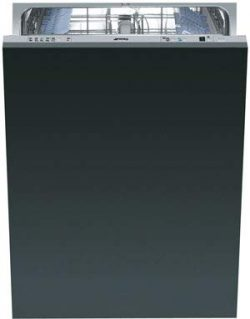 Smeg ST8646U 24 Inch Built In Fully Integrated Dishwasher, 9 Wash Cycles, 13 Place Settings, Qui ...