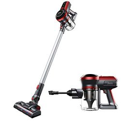 BEAUDENS Cordless Stick Vacuum Cleaner, High Power, Long Runtime, Rechargeable and Lightweight,  ...