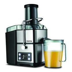 Gourmia GJ1350 Stainless Steel Wide Mouth Juicer | Digital Display | Whole Fruit Juicer | Filtra ...
