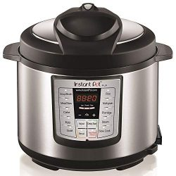 Instant Pot LUX60V3 V3 6 Qt 6-in-1 Multi-Use Programmable Pressure Cooker, Slow Cooker, Rice Coo ...