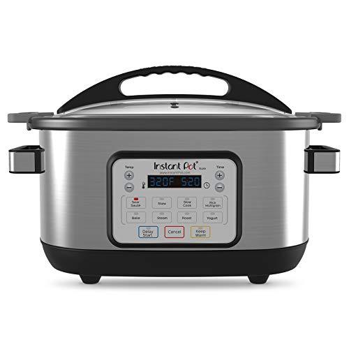Instant Pot 6 Qt Aura Multi-Use Programmable Multicooker, Silver
