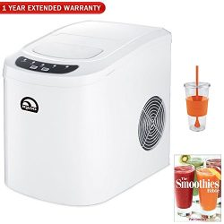 Igloo Countertop Ice Maker With 26lb Per 24 Hours Capacity Chill Kit With Insulated Cold Cup, Sm ...