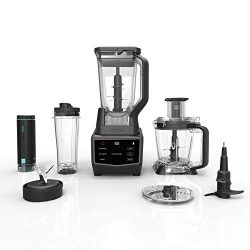 Ninja Smart Screen Blender and Food Processor with FreshVac Technology, 1400-Peak-Watt Base, 9 A ...