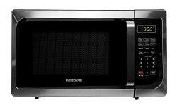 Farberware FMO09AHTBKC 900-Watt Microwave Oven, 0.9 Cu. Ft, Stainless Steel