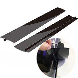 Silicone Kitchen Stove Counter Gap Covers, Heat Resistant Kitchen Counter Gap Anti-Static Non-Ta ...