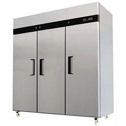 3 Door Stainless Steel Freezer Commercial Freezer MBF-8003