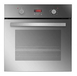 Empava 24″ 9 Cooking Functions Push Button and Digital Control Built-in Convection Single  ...
