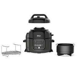 Ninja Foodi OP302 1400-Watt Programmable Pressure Cooker, Air Fryer, Multi Cooker, Dehydrator, S ...