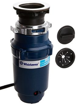 Whirlaway 191AP 1/3 hp Garbage Disposal with Cord, Blue