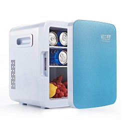 Mini Fridge Electric Cooler & Warmer – AC/DC Portable Thermoelectric System (10L)