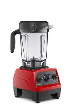 Vitamix Explorian Blender, Professional-Grade, 64 oz. Low-Profile Container, Red (Certified Refu ...