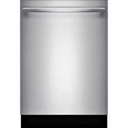 Bosch SHXM63W55N 300 Series 24″ Built In Fully Integrated Dishwasher with 5 Wash Cycles, i ...