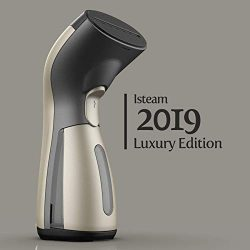 Luxury Edition Steamer Technology [2019] 8-in-1 Powerful Multi Use: Clothes Wrinkle Remover- Cle ...