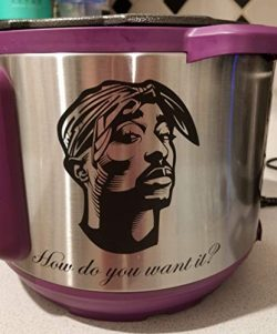 Tupac Instant Pot Decal