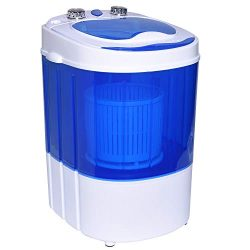 Ivation Mini Portable Washer/Spinner – Compact Size Perfect for Travel, RV, Camping, Dorms ...
