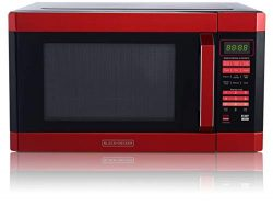 BLACK+DECKER EM145AAK-P EEM145AAK-P 1.6 Cubic Foot 1100 Watt Stainless Steel Microwave with Smar ...