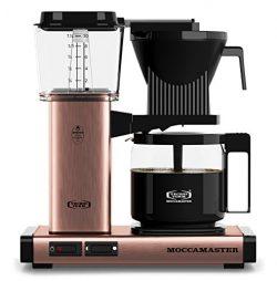 Technivorm Moccamaster Moccamaster 59162 KBG Coffee Brewer, 40 oz, Copper