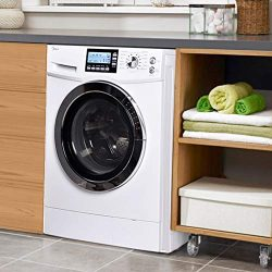 BestMassage 24″ Washer Dryer Combo Compact White 2.0 Cubic. ft. Capacity 24″ White E ...