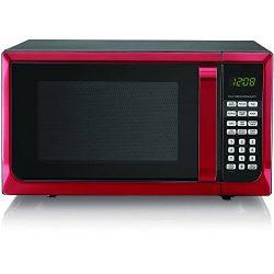 Hamilton Beech .9 cubic foot 900 watt microwave (Red)