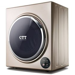 CTT 13 Lbs. Capacity/3.5 Cu.Ft Compact Portable Tumble Clothes Laundry Dryer, Intelligent Humidi ...