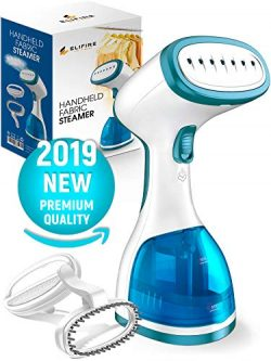 Premium Handheld Steamer for Clothes – Strong Steam Clothes Steamer – Fast Heat-up T ...