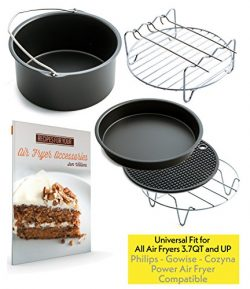 Air Fryer Accessories for Gowise Phillips and Cozyna, Set of 5, Fit all 3.7QT – 5.3QT &#82 ...