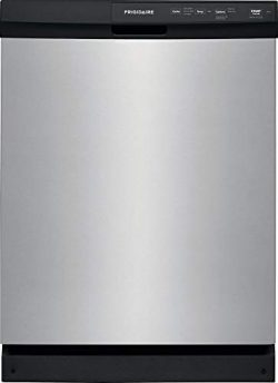 Frigidaire FFCD2413US 24 Inch Built In Full Console Dishwasher with 3 Wash Cycles, 14 Place Sett ...