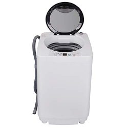 ZENY Portable Compact Full-Automatic Washing Machine Holds 8lbs Load Mini All in One Laundry Was ...