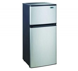 Magic Chef Magic Mountain Water Products Presents the 4.3 Cu Ft Two Door Mini Refrigerator (The  ...