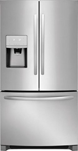 Frigidaire FFHB2750TS 36 Inch French Door Refrigerator with 26.8 cu. ft. Total Capacity, in Stai ...