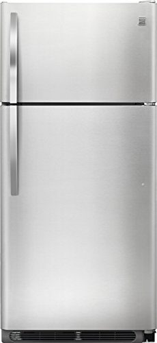 Kenmore 70505 18 cu. ft. Refrigerator in Stainless Steel, includes delivery and hookup (Availabl ...