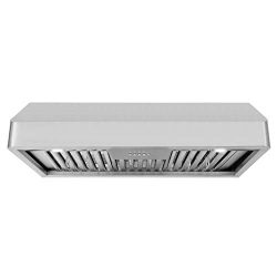 Cosmo QB90 36-in Under-Cabinet Range Hood 900-CFM Ductless Convertible Duct, Kitchen Stove Vent  ...