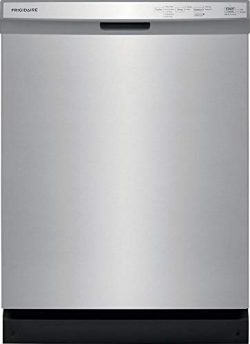 Frigidaire FFCD2418US 24 Inch Built In Full Console Dishwasher with 5 Wash Cycles, 14 Place Sett ...