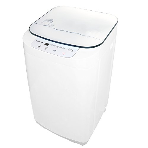 KAPAS KPS35-735H2 Compact Washing Machine, Fully Automatic 2-in-1 Washer and Dryer Machine with  ...