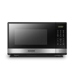 BLACK+DECKER EM031MB11 Digital Microwave Oven with Turntable Push-Button Door,Child Safety Lock, ...