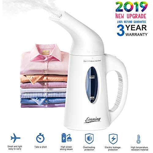 Evening Steamer for Clothes Handheld Clothes Steamer Fast Heat-up Wrinkle Remover Clothes Garmen ...