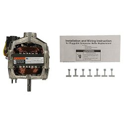 Whirlpool W10439651 Trash Compactor Drive Motor Genuine Original Equipment Manufacturer (OEM) Part
