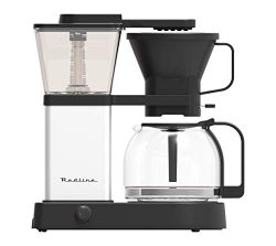 Redline MK1 8 Cup Coffee Brewer with Glass Carafe, Hot Plate and Pre-Infusion Mode (Summer 2018  ...
