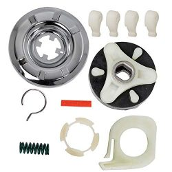 HIFROM Replacement 285785 Washer Clutch Kit & 285753A Motor Coupling Kit with 80040 Agitator ...