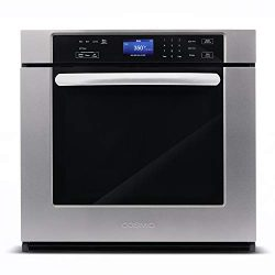 Cosmo COS-30ESWC 30 in. 5 cu. ft. Single Electric Wall Oven with True European Convection and Se ...