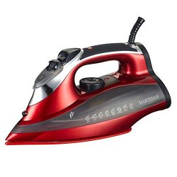 MARTISAN SG-5008 Steam Iron 1800 Watt with Nano-Ceramic Soleplate & Auto-Shut Off Full Funct ...