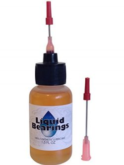 Liquid Bearings, the superior 100%-synthetic oil for dehumidifier fans or any fans, frees sticky ...