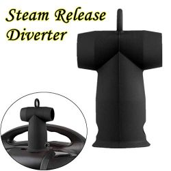 ❤️MChoice❤️Silicone Steam Release Diverter Compatible Kitchen Accessories for Instant Pot (Black)