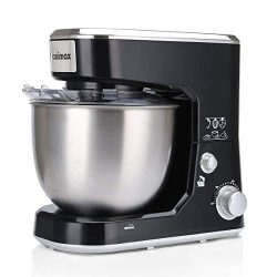 Cusimax Stand Mixer 5-Quart – 800W Tilt-head Electric Food Mixer with Stainless Steel Bowl ...