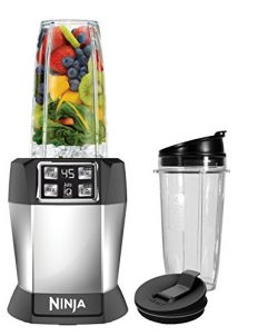 Nutri Ninja Personal Blender with 1000 Watt Auto-IQ Base for Juices, Shakes and Smoothies with 1 ...