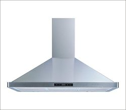 Winflo 36″ Wall Mount Stainless Steel Convertible Kitchen Range Hood with 450 CFM Air Flow ...