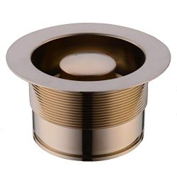 SINKINGDOM Sink Flange kit for Garbage Disposal with EZ-Mount(Full Brass), Champagne Bronze.